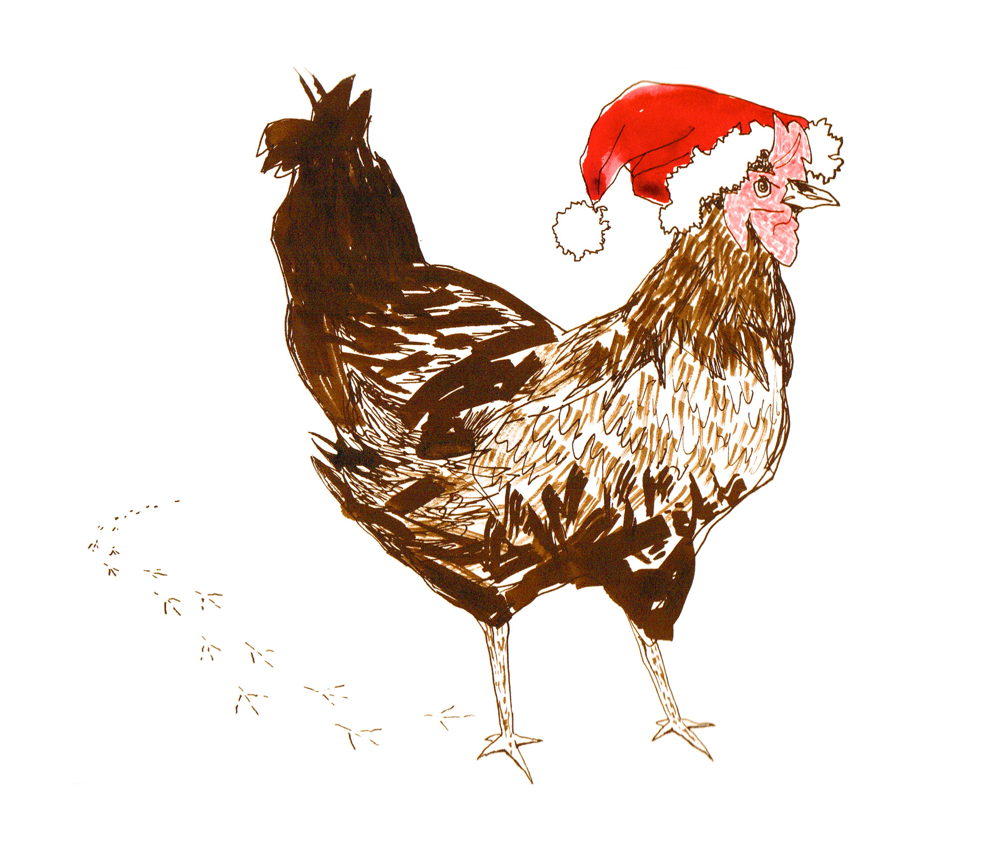 The Versantus Christmas Chick